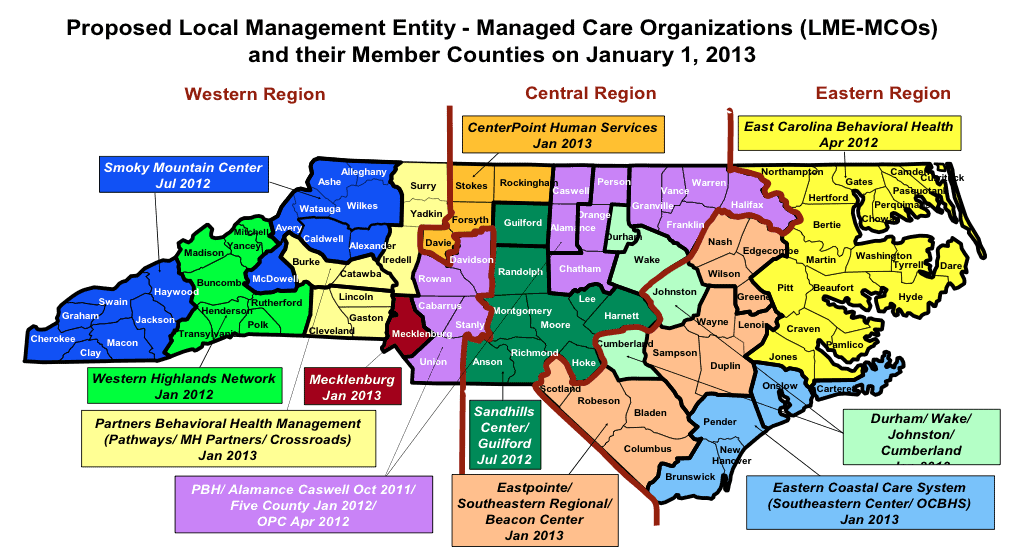 To Save Money Improve Health Nc Changes Mental System: Map Of North Carolina Industry At Usa Maps