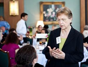 State representative Verla Insko (D-Chapel Hill)