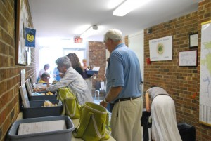 Volunteers meet at Binkley Baptist Church in Chapel Hill daily to deliver meals around Chapel Hill and Carrboro.