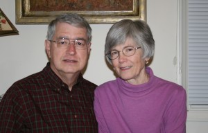 Bill and Joan McCormick at home in Hillsborough, 2011. Photo by Michelle Cerulli.