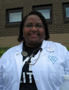 Doctors for America supporter Eleanor Greene