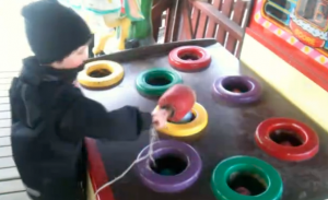 photo of Playing Whack-a-mole