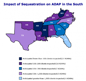 NASTAD sequestration map