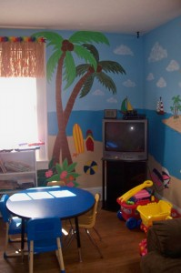 Safe Havens has three visitation rooms where parents and kids can spend time together.