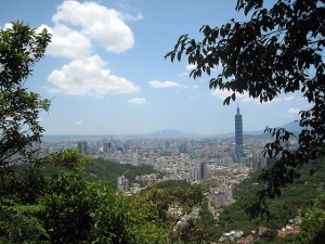 View of Taipei, Taiwan. The island nation has about 22 million people, Taipei has about 2.6 million residents. Photo courtesy of Daymin, flickr creative commons