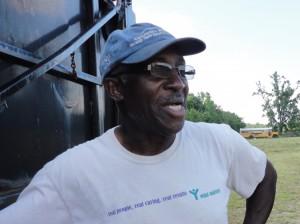 James Joyner, one of the lead farmer volunteers with Conetoe Family Life Center