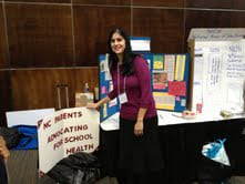 Teri at the 30th Anniversary North Carolina School Nurse Conference held October 21-22 in Chapel Hill. Photo credit: Elaine Yeargan