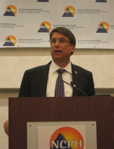 "At the State Health Directors' Conference on Thursday in Raleigh, Gov. Pat McCrory thanked public health workers, calling them the ""unsung heroes"" of the health care system."