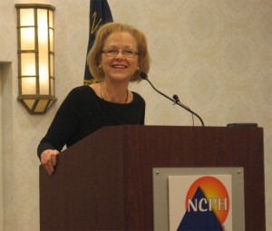 Health and Human Services Aldona Wos told state health directors at their annual meeting in Raleigh Thursday that her priority for the coming year was completing the Medicaid reform process and improving mental health.
