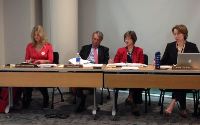 MEC commissioners met to hear Blue Ridge Environmental Defense League's petition. Photo by Gabe Rivin