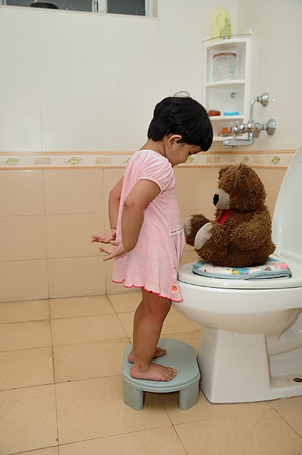 Photo credit manish bansal flickr creative commons for Bathroom accidents in older children