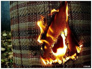Chemical flame retardants are used to limit fires, but they've been linked with several health problems. Photo courtesy macwagen, Flickr Creative Commons
