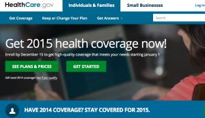 Healthcare.gov 2015 portal