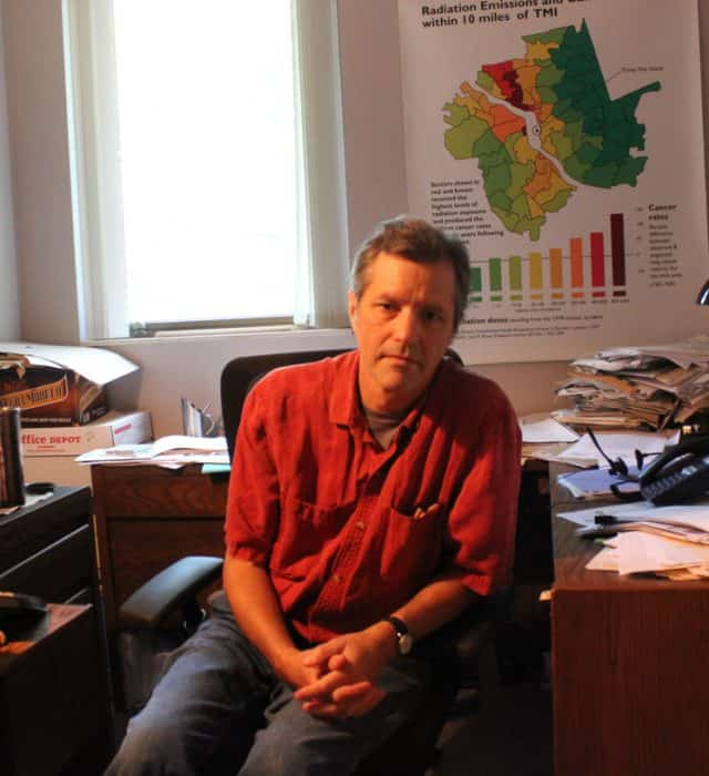 Steve Wing, a professor of epidemiology at UNC-Chapel Hill. Photo by Gabe Rivin