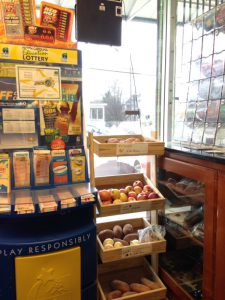 The corner store at North Roxboro and Geer Streets in Old North Durham has embraced selling healthy food alongside beer and lottery tickets.