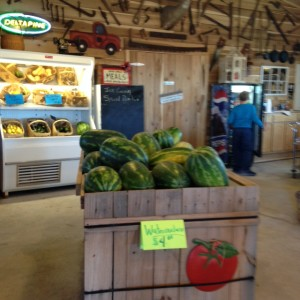 A convenience store in Bethel in rural Pitt County now carries local melons and other produce thanks to help from the healthy corner store initiative.
