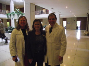 Diane Hanke, Miriam Schwarz and Robert Henderson traveled from Asheville to advocate for better access to care in the west,  higher Medicaid reimbursements and Medicaid expansion.