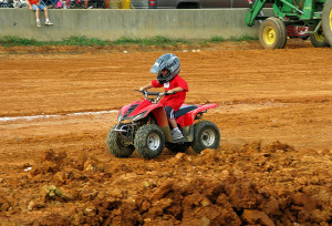 A provision in the Senate regulatory reform bill would allow children as young as 6 years old to operate ATVs.
