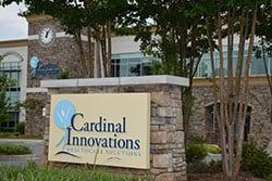 Cardinal Innovations sign