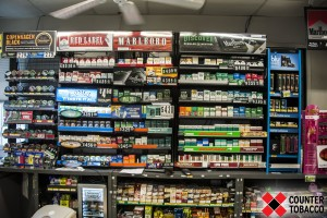 When consumers walk into many convenience stores, they find walls of products to choose from.