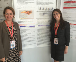 Dr. Mehri McKellar and Dr. Jessica Seidelman present their research on the willingness of primary care providers to prescribe PrEP at the International Conference on AIDS in Durban, South Africa.