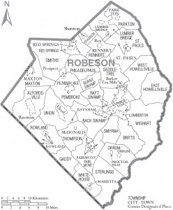 In Robeson County Fighting Grim Statistics With Work And Hope