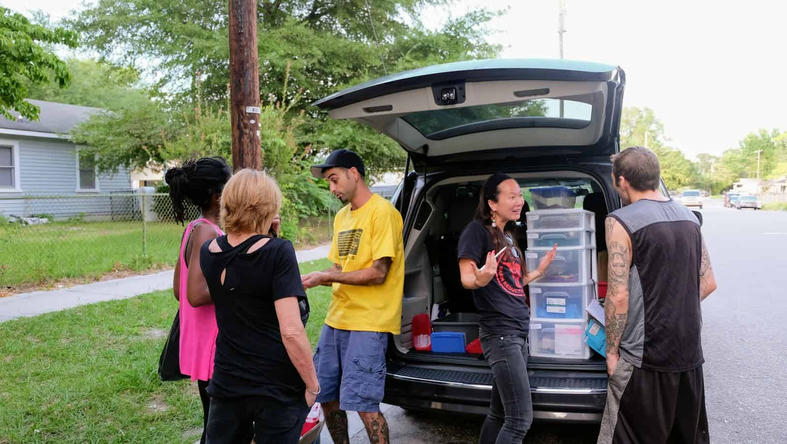 Mobile Syringe Exchange Serves People Where They Are - North
